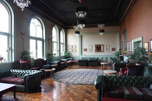 Old Trafford Bars ~ 1887 Trafford Hall Hotel Bar