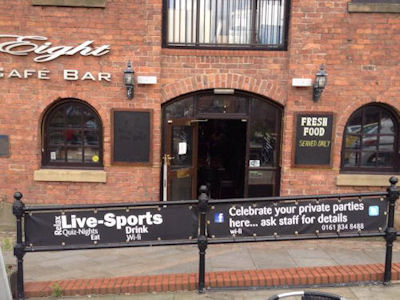 Bar Eight Castlefield Manchester