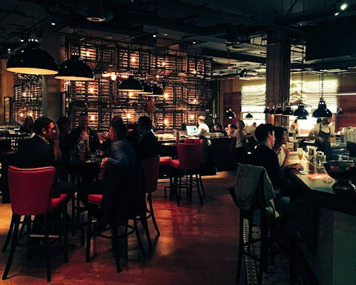 Bars near the Royal Exchange Manchester ~ Burger & Lobster