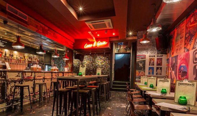 Bars near manchester arena for Terrace nq manchester