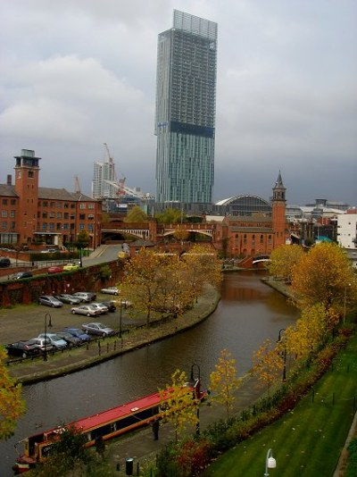 Beetham Tower from Castelfield