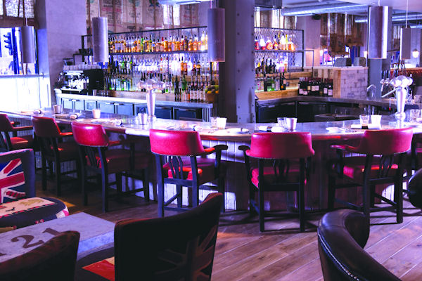 Bars near the shops in Manchester - Chez Mal at Malmaison Manchester