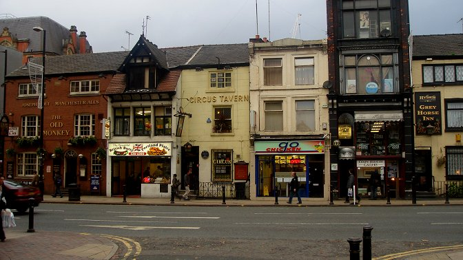 Manchester Pubs - Circus Tavern