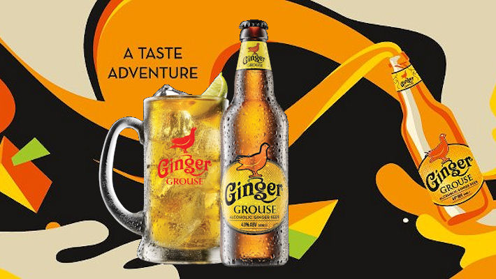 Ginger Grouse