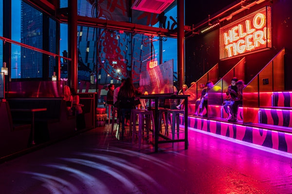 Best Bars In Manchester ~ Junkyard Golf Manchester