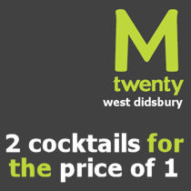 M Twenty Bar Didsbury