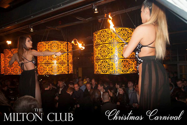 Christmas Restaurants in Manchester - Milton Club