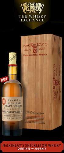 MacKinlay's Shackleton Whisky