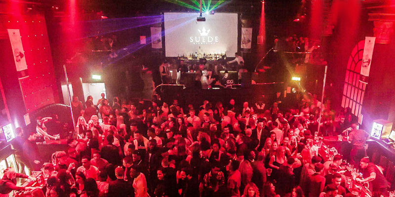 Deansgate Manchester Clubs ~ Suede Nightclub Manchester