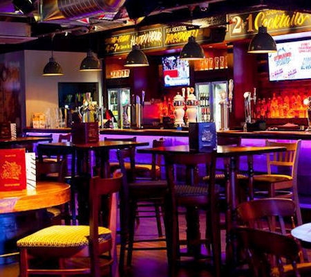 Manchester Arena bars - Around The World Manchester