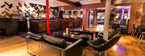 Christmas Restaurants in Manchester - Black Dog Ballroom NQ