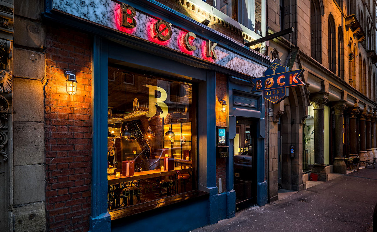 Manchester Bars ~ Bock Biere Manchester
