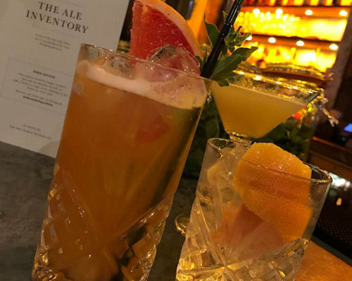 Bars near The Royal Exchange Manchester ~ The Botanist Manchester