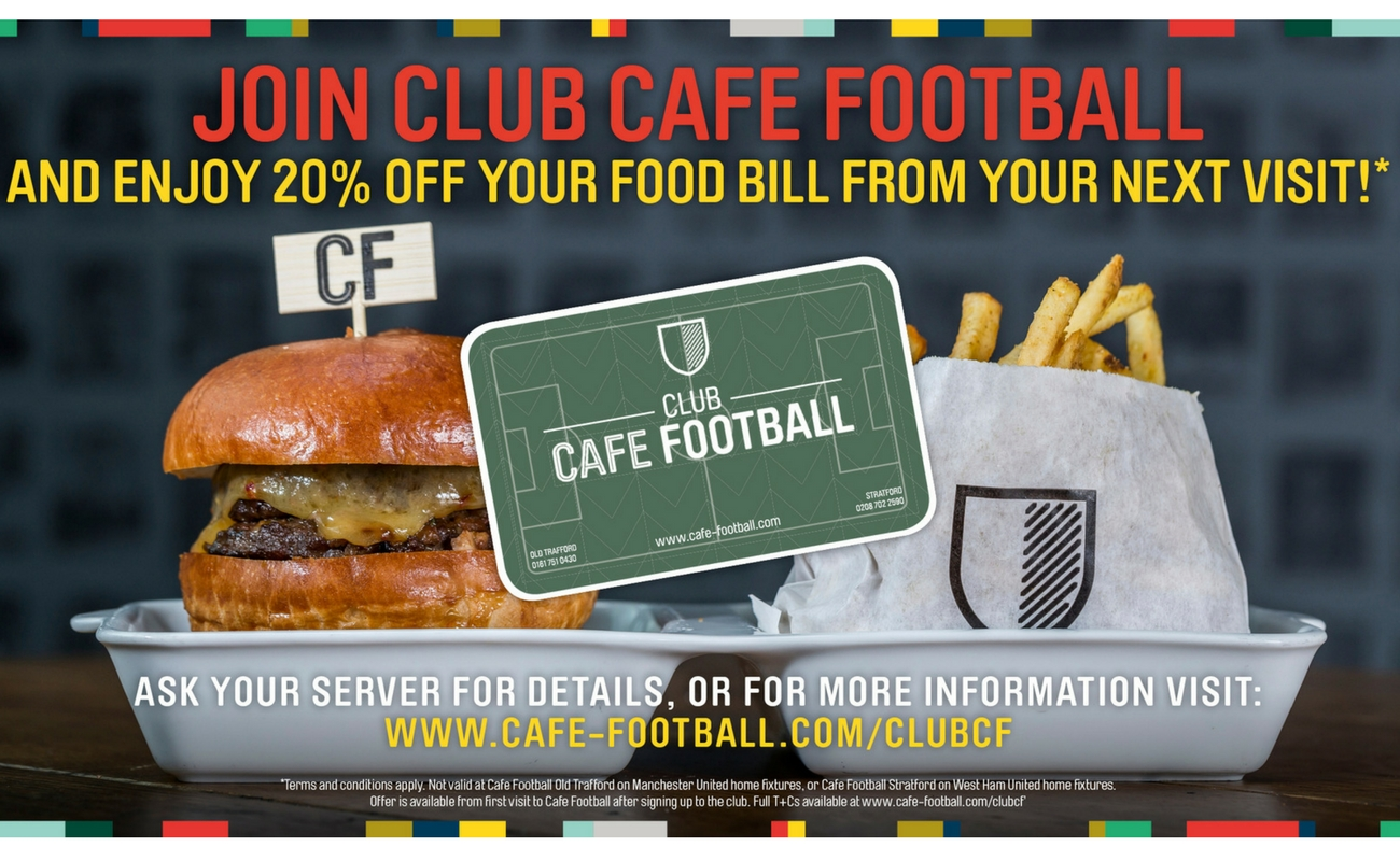 Cafe Football - Manchester