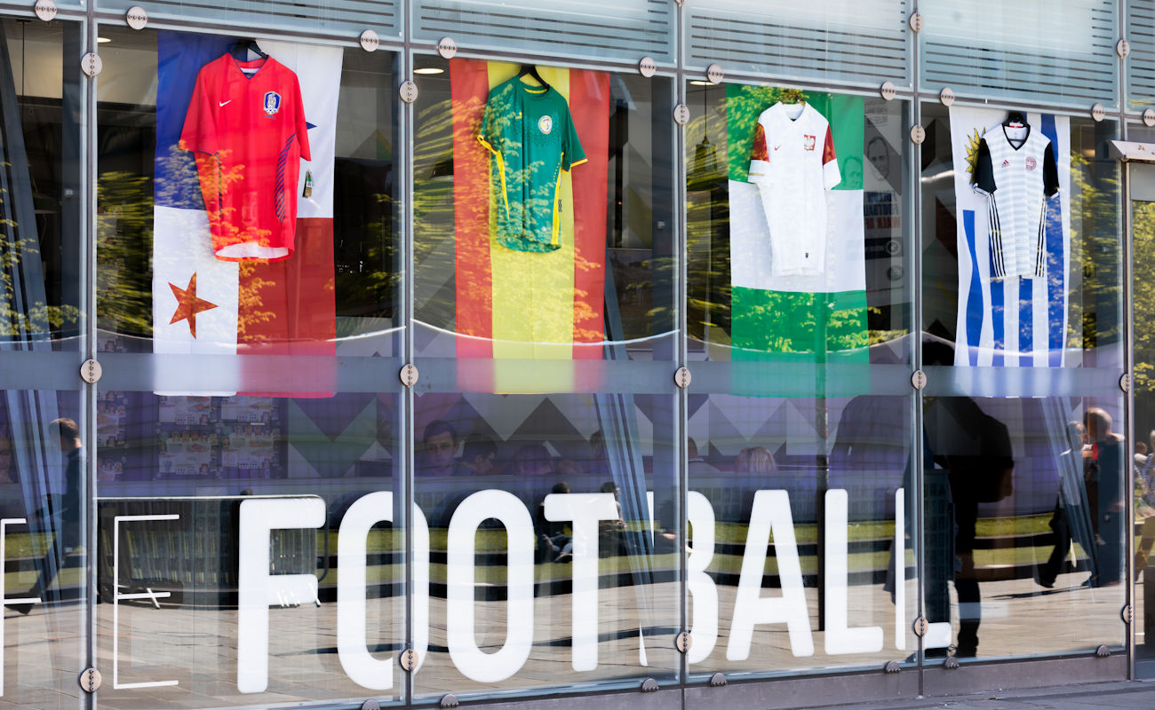 The World Cup 2018 in Manchester Offers ~ Cafe Football National Football Museum
