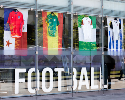 Live Sports Bars In Manchester - Cafe Football National Football Museum
