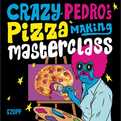 Crazy Pedro's NQ Part Time Pizza Parlour Manchester