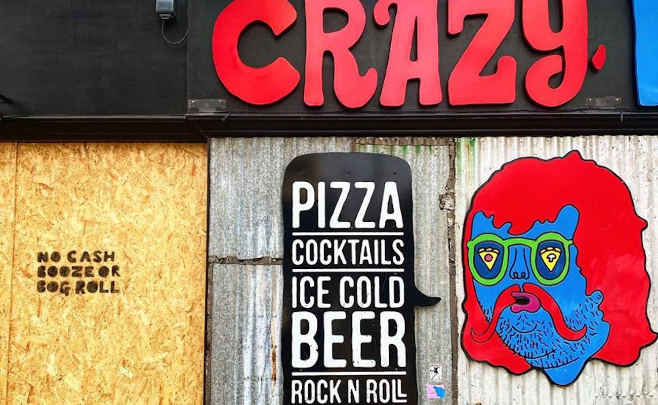 Crazy Pedro's Part Time Pizza Parlour Manchester
