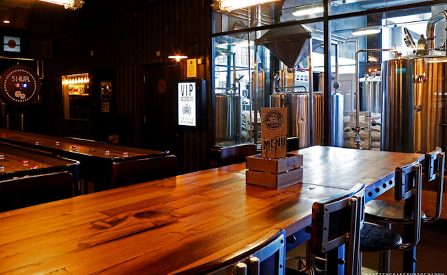 Manchester First Street Bars ~ Gasworks Brew Bar