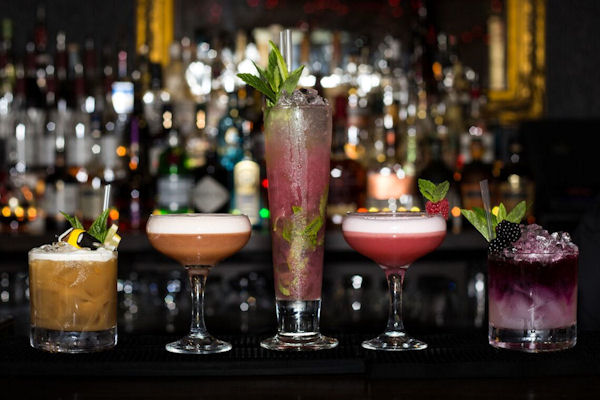 Manchester Arena bars ~ Liquorice Manchester