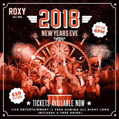 Christmas 2018 Offers Restaurants in Manchester -  Roxy Ballroom