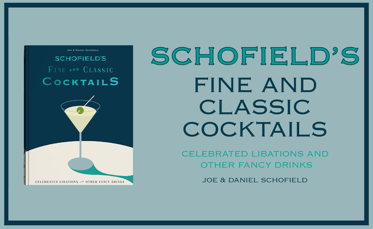 Schofield's Cocktail Book