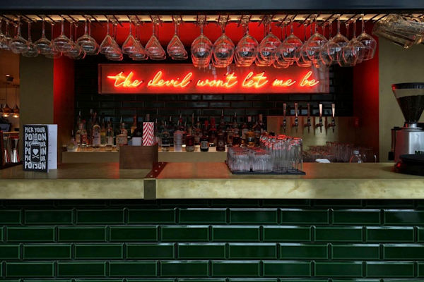 First Street Manchester Bars ~ School For Scandal