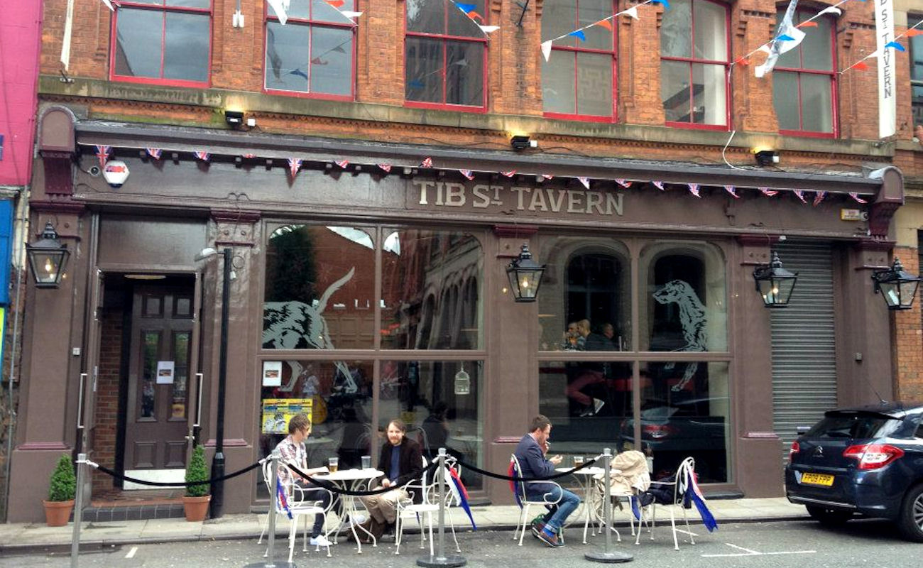 Live Sports Bars In Manchester - Tib Street Tavern Manchester