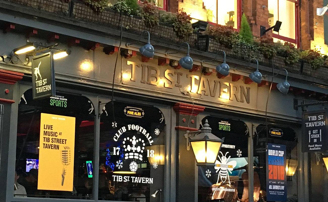 Manchester Bars ~ Tib Street Tavern