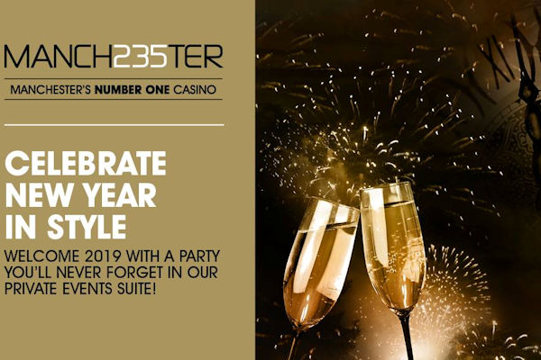 Manchester Bars New Year's Eve ~ James Martin Manchester