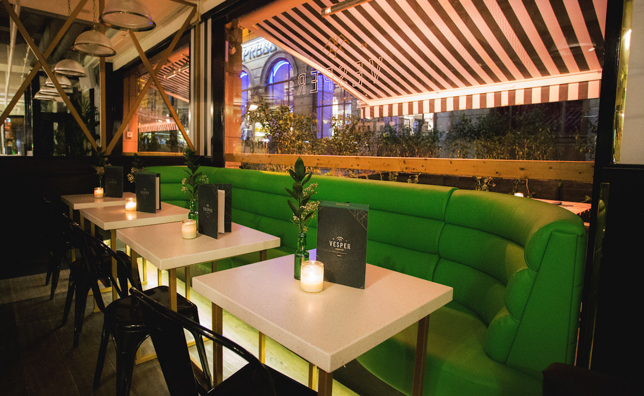 Bars near Manchester Arena & National Football Museum ~ Banyan Bar & Kitchen Manchester